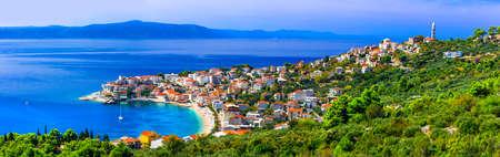 beautiful Adriatic coast - Makarska riviera, Igrane village. Croatia