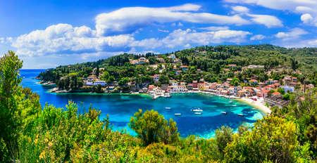 Natura incredibile, isola di Paxos, Grecia Archivio Fotografico