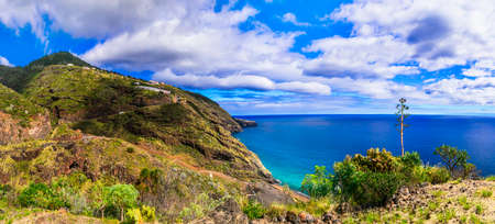 La Palma island. nature landscape scenery. Canary islands of Spain Zdjęcie Seryjne