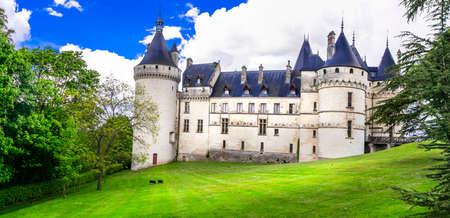 Chaumont-sur-Loire. wonderful castles of Loire valley, France travel and landmark