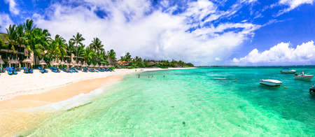 luxury 5 star hotel territory with great beach - Constance Belle Mare Plage. Mauritius island. Pointe de flacq, Belle Mare. February 2020 Publikacyjne