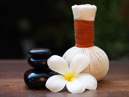 thai spa: Thai Spa, herbal ball, compress ball and rock spa, Thailand