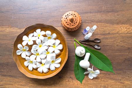 compress: Spa treatment and massage, Thailand, Stock Photo