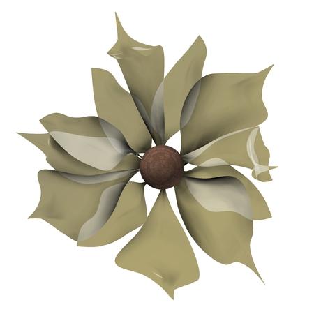 discreto: Soft discreet flower