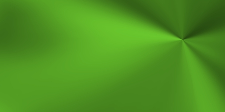 glows: Green background with metallic highlights centered on a point. Stock Photo