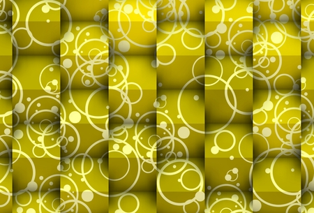Yellowish cubes with bubbles