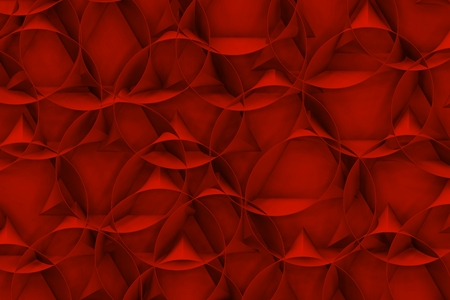 alberto: Red texture with circles Stock Photo