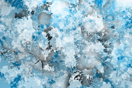 Stain background in bluish mist