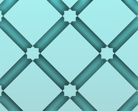 Glass background made from traditional arabic decoration.