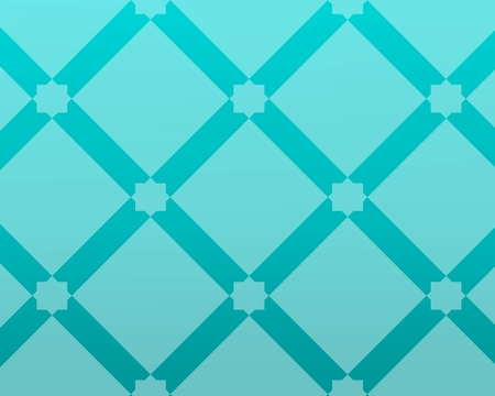 glass bluish background inspired by traditional arabic decoration and architecture.