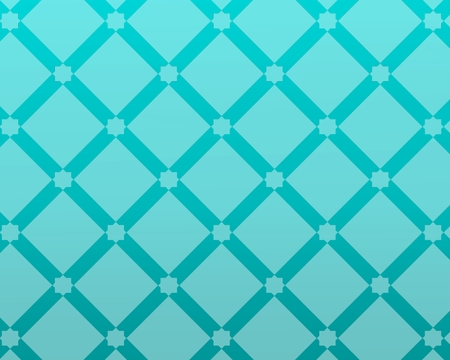 glass blue background inspired by traditional arabic decoration and architecture.