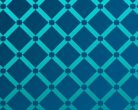 blue background inspired by traditional arabic decoration and architecture. Foto de archivo