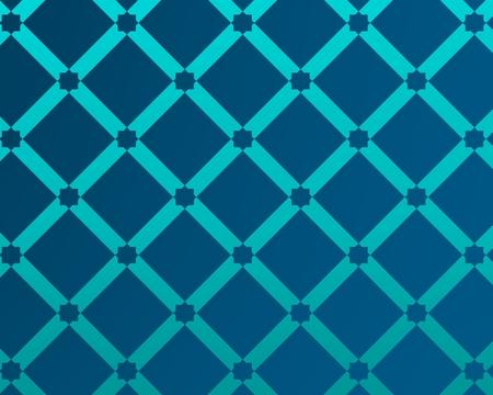 fondo azul inspirado en la decoración y la arquitectura árabe tradicional. Foto de archivo