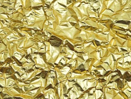 monotone: Monotone texture in cold colors of the golden foil.
