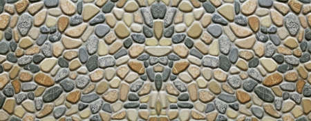crosshatched: Monotone texture in cold colors of the stone.