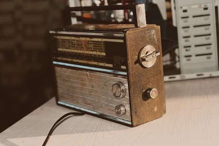 Foto de retro radio.