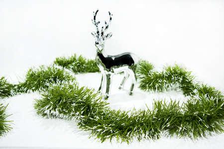 Christmas garland. Stock fotó