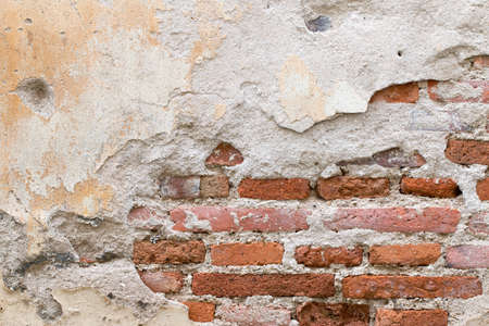 cement floor: Background of brick wall texture Stock Photo