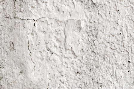 toughness: white concrete wall texture Stock Photo