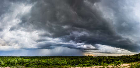 Panorama Natural backgrounds stormy sky