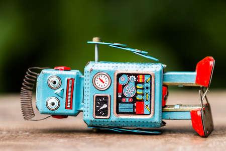 retro robot speelgoed