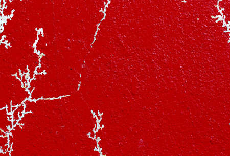 Red concrete wall texture Stock Photo