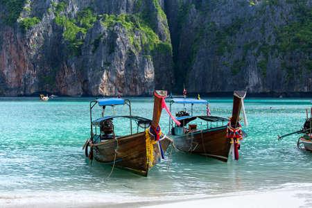 Maya bay Phi Phi Leh island, Krabi Thailand
