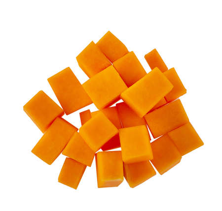 Fresh butternut squash isolated on a white background 写真素材