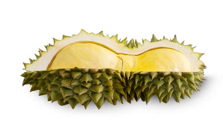 Durian and durian isolated on white background Imagens