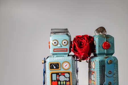 Vintage robot tin toy