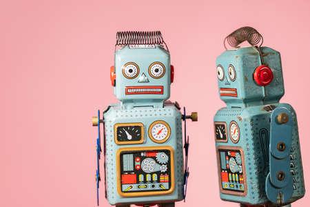 Vintage Roboter Blechspielzeug