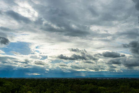 thunder storm sky Rain clouds Zdjęcie Seryjne - 148316256