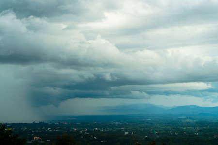 thunder storm sky Rain clouds Zdjęcie Seryjne - 148316325