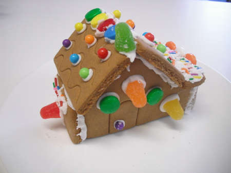Gingerbread house 3 Stock Photo