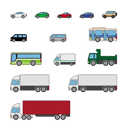 Cars, Trucks, and more. 向量圖像