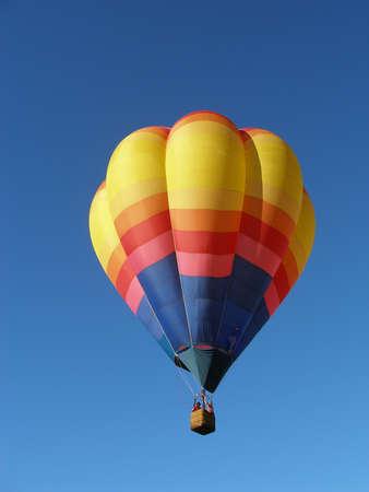 ballooning: Hot Air Balloon Stock Photo