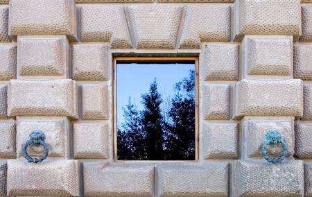architrave: Beautiful building and architecture of the ancient Alhambra Palace in Granada on the Costa del Sol in Spain Editorial