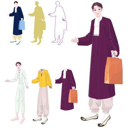 woman holding bag: Representation of a woman holding bag LANG_EVOIMAGES