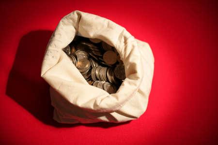 prosper: Bag full of coins