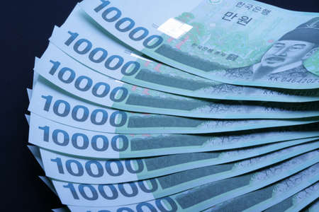 affluence: Korean currency