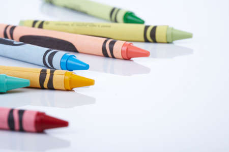 polychromatic: Colourful crayons