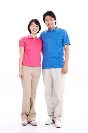 mid adult couple: Retrato de una pareja de mediana edad sonriendo