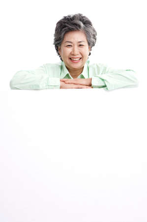 joyfulness: Mature woman smiling, portrait