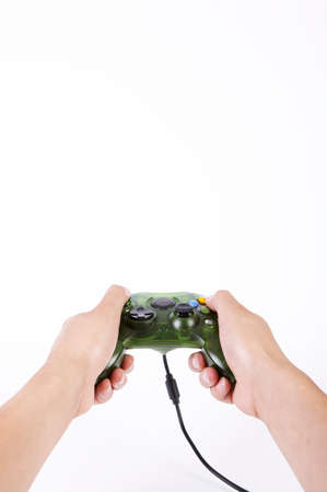 leisureliness: Person using video game controller
