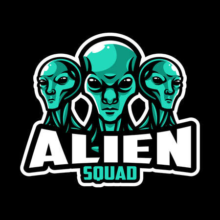 Alien logo squad or team
