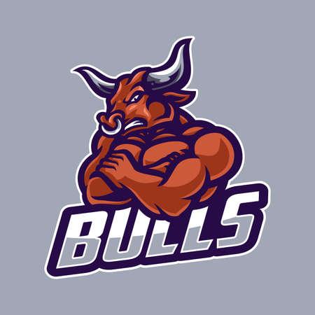 Strong bull logo