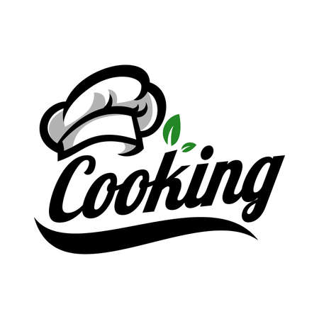 Cooking logo template