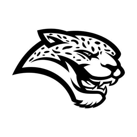 Leopard mascot Ilustração