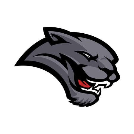 Logo della mascotte della pantera
