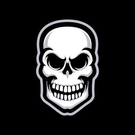 Skull mascot